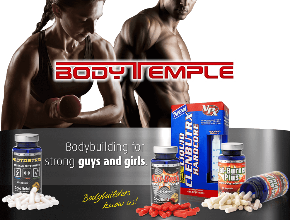 Bodytemple - The professional in sports nutrition, Wellness- and supplements